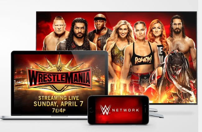 WrestleMania 35 WWE Network Advertisement Featuring Demon King Finn Balor