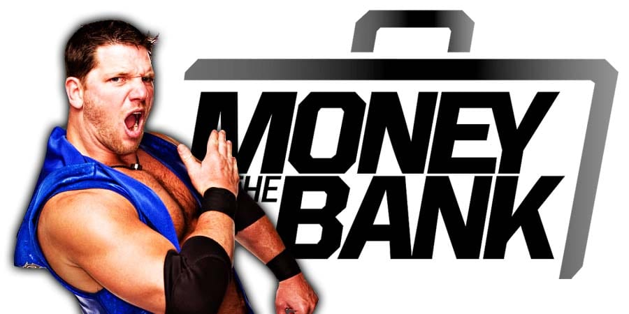 AJ Styles Money In The Bank 2019