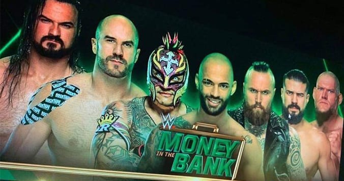Drew McIntyre Expected To Win Men's Money In The Bank 2019 Ladder Match