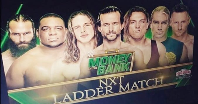 NXT Money In The Bank Ladder Match 2019