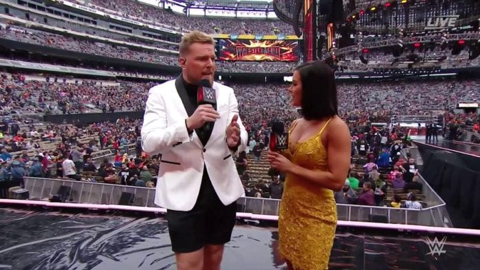 Pat McAfee WrestleMania 35 Outfit