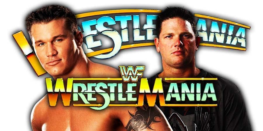 Randy Orton AJ Styles WrestleMania 35 Match Light Incident