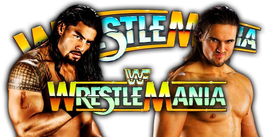 Roman Reigns defeats Drew McIntyre At WrestleMania 35
