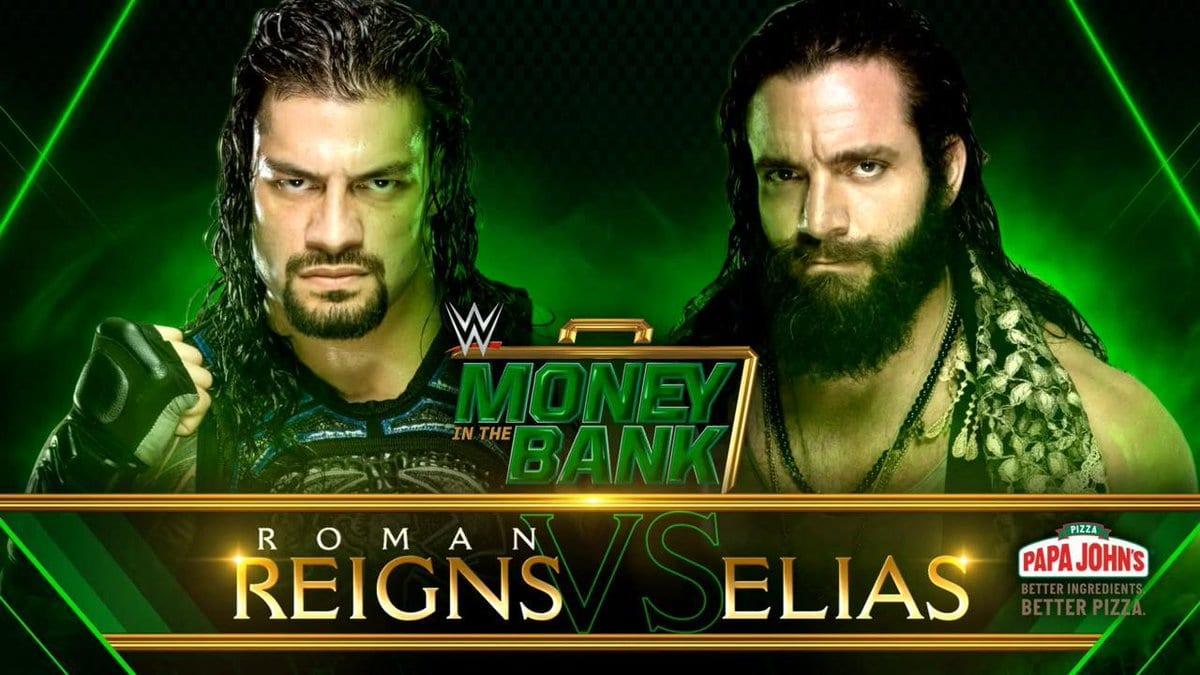 Roman Reigns vs. Elias - Money In The Bank 2019
