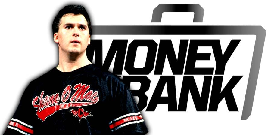 Shane McMahon Money In The Bank 2019