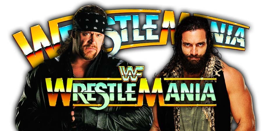 The Undertaker To Interrupt Elias At WrestleMania 35