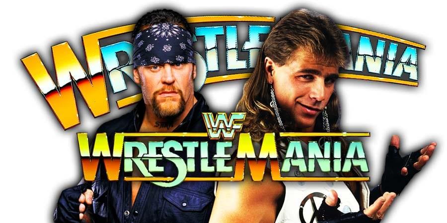 The Undertaker vs. Shawn Michaels - WrestleMania 35