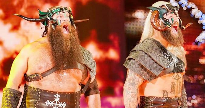 The Viking Raiders WWE