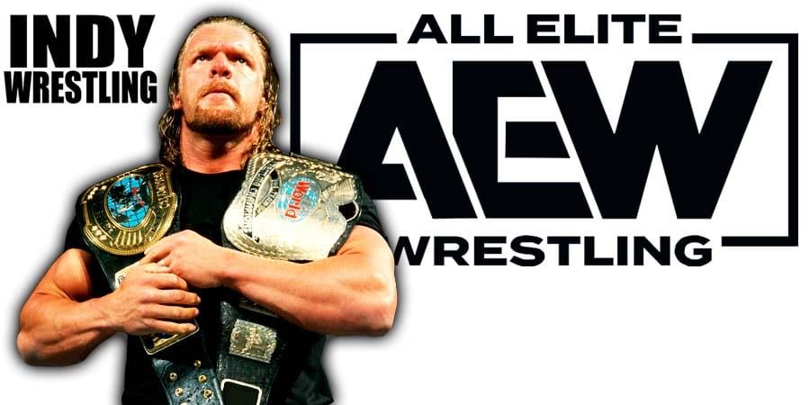 Triple H AEW All Elite Wrestling
