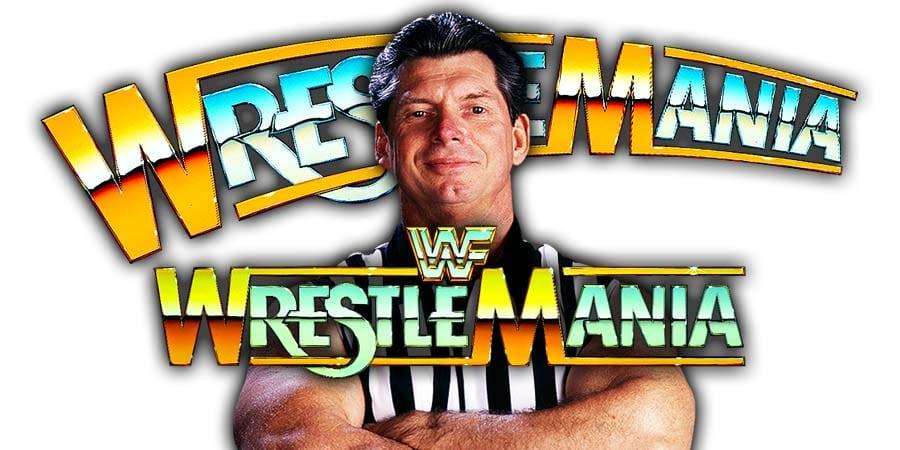 Vince McMahon WrestleMania 35