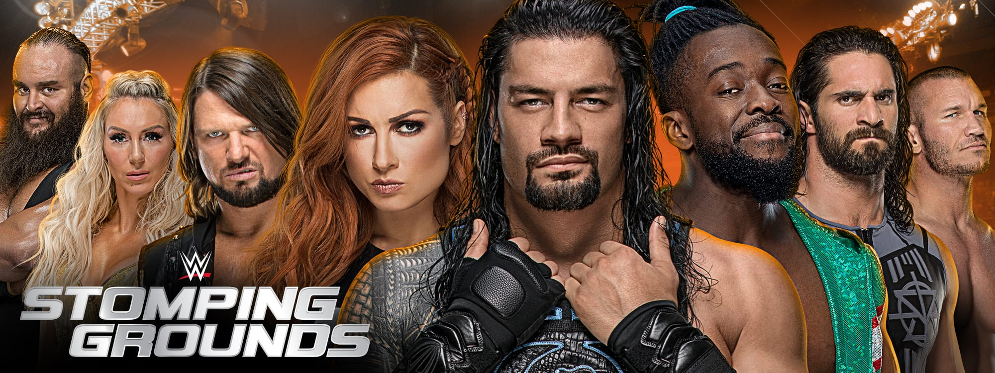 WWE Stomping Grounds 2019 PPV Poster