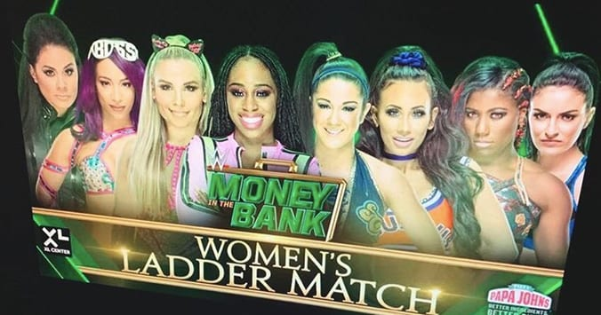Women's Money In The Bank 2019 Ladder Match Graphic Leaked