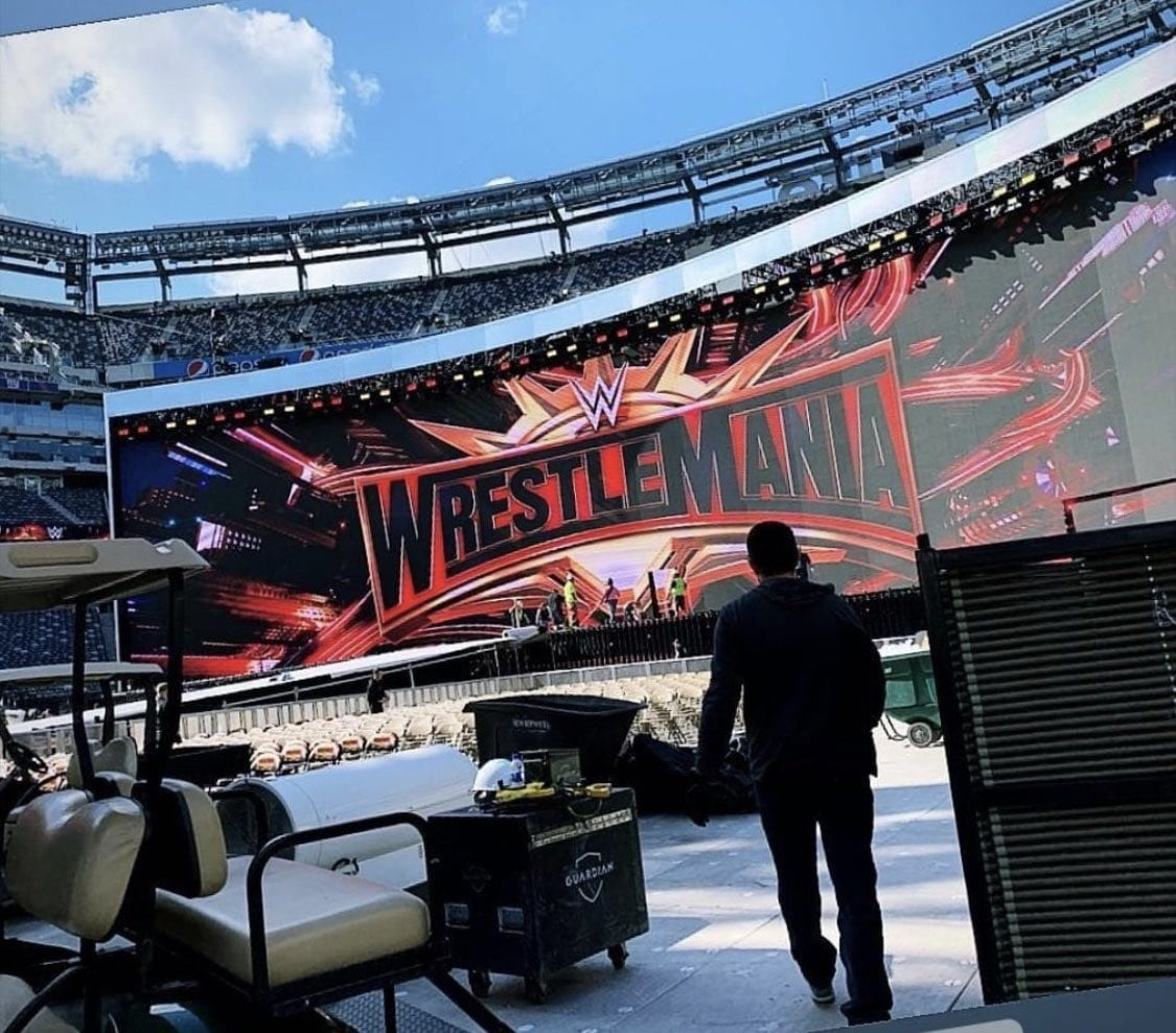 WrestleMania 35 Stage Set Screen Revealed
