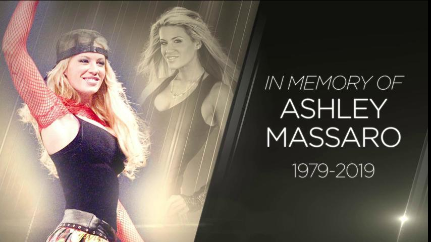 Ashley Massaro WWE RIP Graphic Official