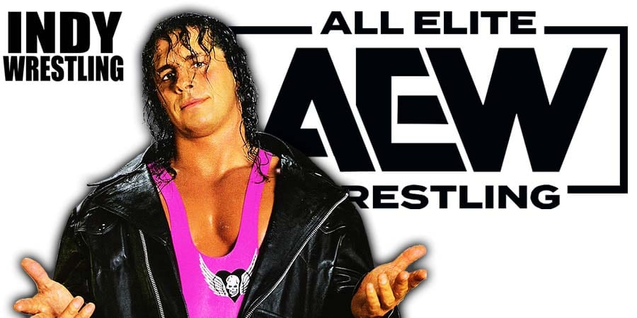 Bret Hart AEW All Elite Wrestling