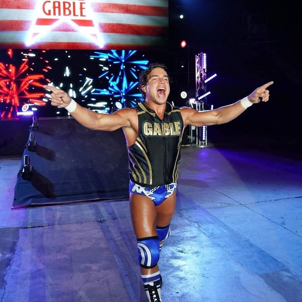 Chad Gable New Look May 2019