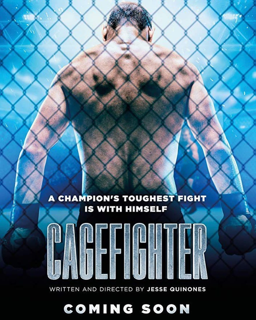 Dean Ambrose Cagefighter Movie Poster