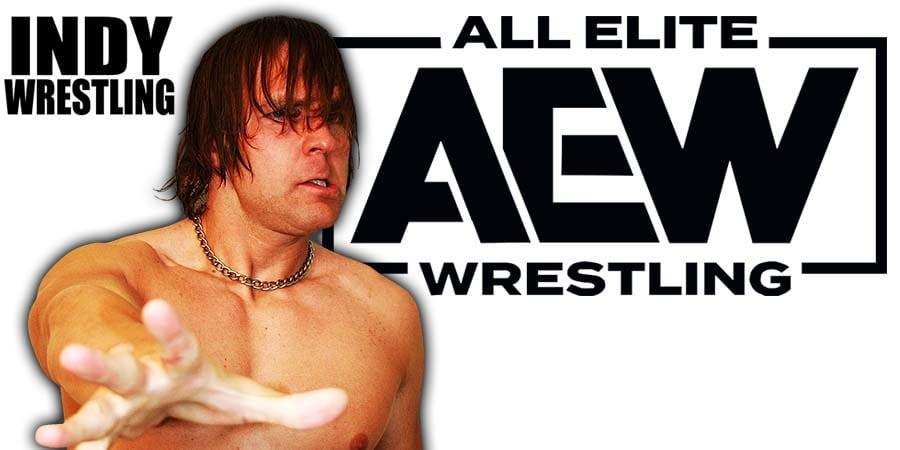 Dean Ambrose Jon Moxley AEW All Elite Wrestling