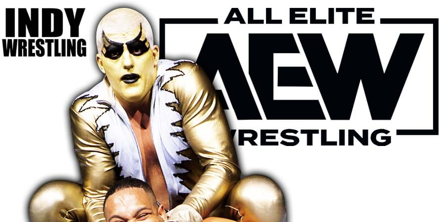 Dustin Rhodes Goldust AEW All Elite Wrestling 2019