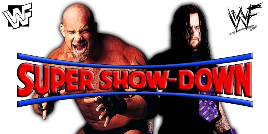 Goldberg vs. The Undertaker - WWE Super ShowDown 2019
