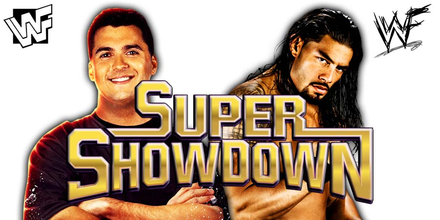 Shane McMahon vs. Roman Reigns - WWE Super ShowDown 2019