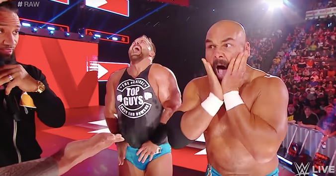 The Revival Ucey Hot Segment RAW 2019