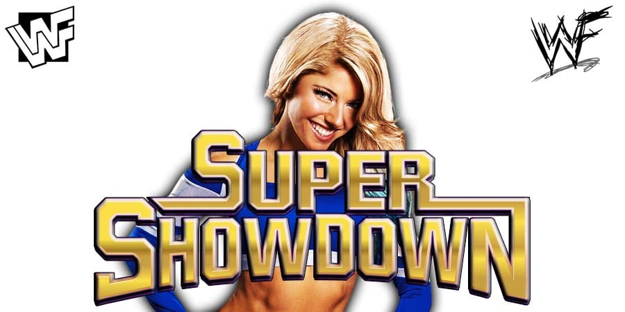 Alexa Bliss WWE Super ShowDown 2019