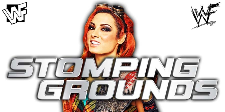 Becky Lynch WWE Stomping Grounds
