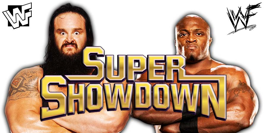 Braun Strowman defeats Bobby Lashley at WWE Super ShowDown 2019