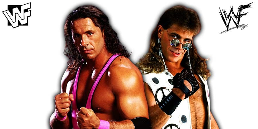 Bret Hart Shawn Michaels WWF