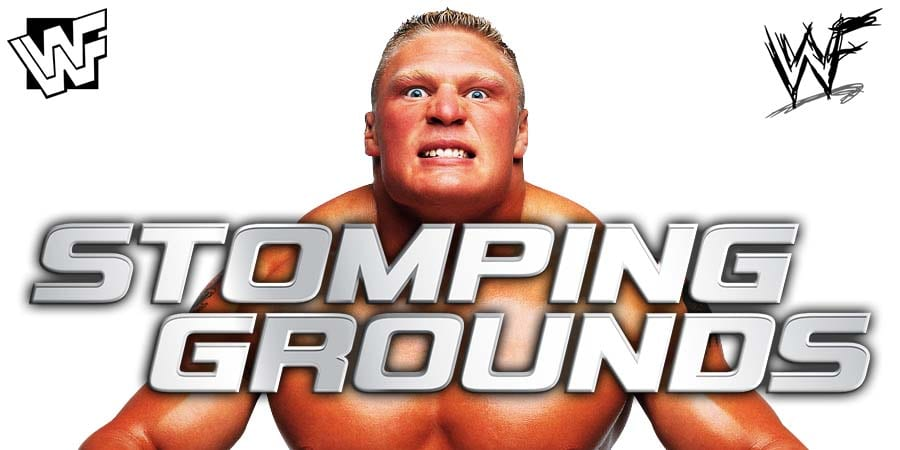 Brock Lesnar WWE Stomping Grounds 2019