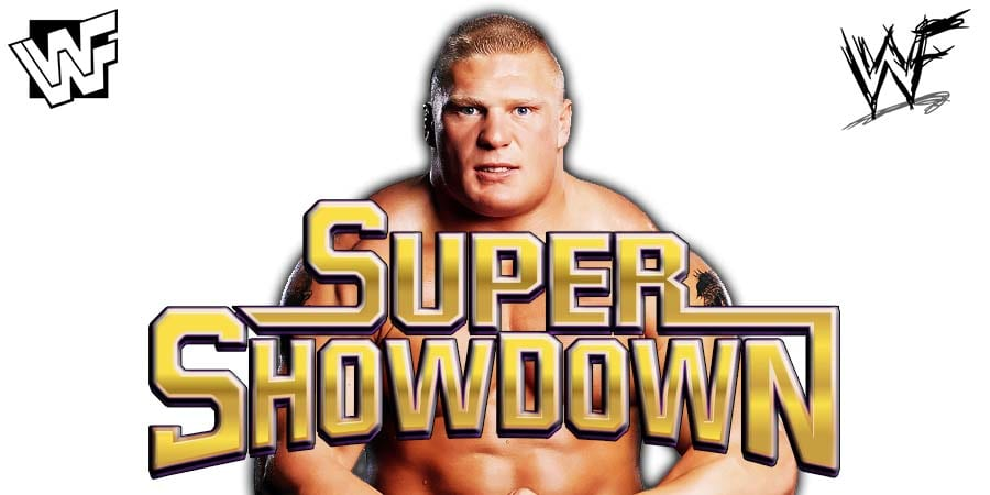Brock Lesnar WWE Super ShowDown 2019