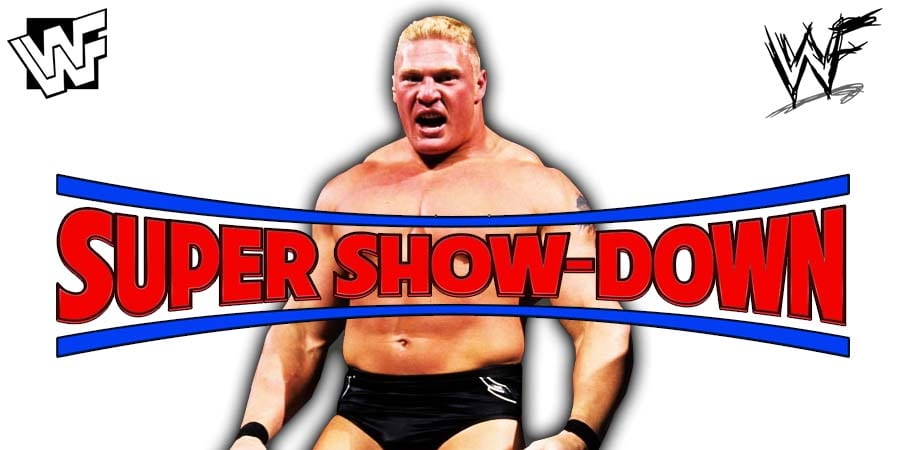 Brock Lesnar WWE Super ShowDown