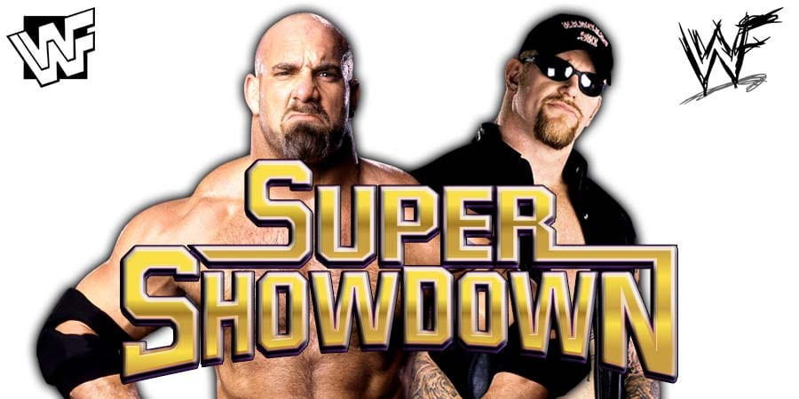 Goldberg Undertaker WWE Super ShowDown 2019 Dream Match