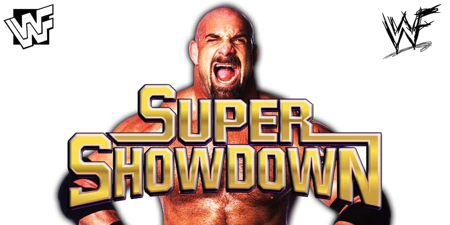 Goldberg WWE Super ShowDown 2019