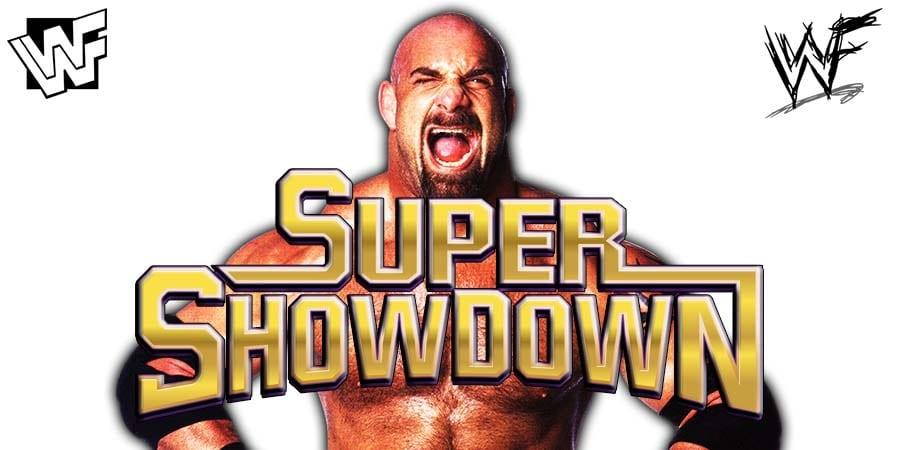 Goldberg WWE Super ShowDown 2019