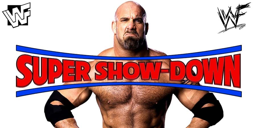 Goldberg WWE Super ShowDown PPV