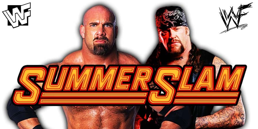 Goldberg vs. The Undertaker - WWE SummerSlam 2019