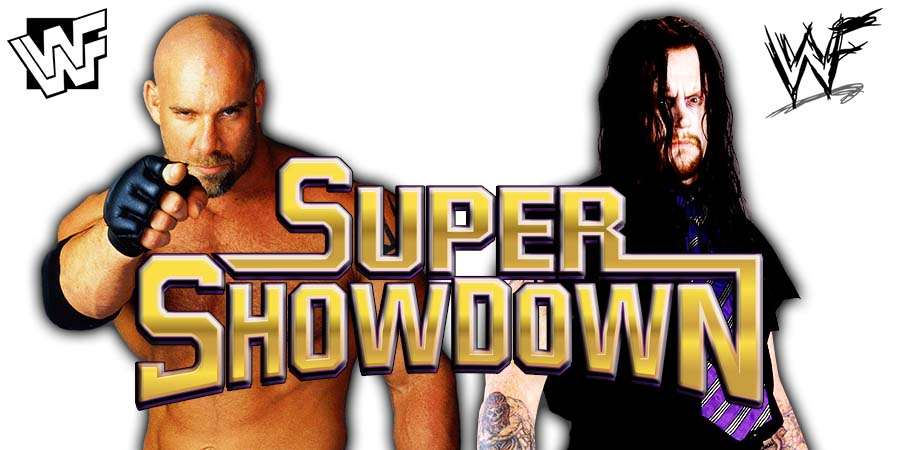 Goldberg vs. The Undertaker - WWE Super ShowDown Match 2019