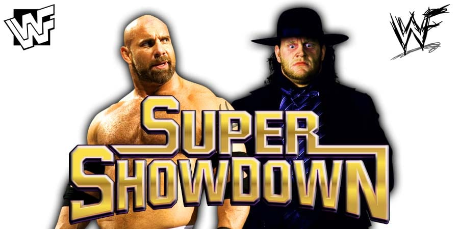 Goldberg vs. Undertaker Dream Match At WWE Super ShowDown