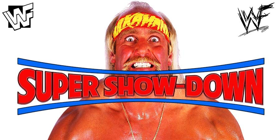 Hulk Hogan WWE Super ShowDown