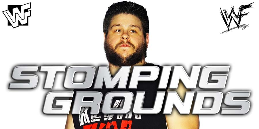 Kevin Owens WWE Stomping Grounds 2019