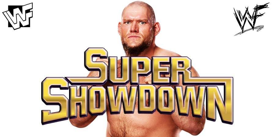 Lars Sullivan WWE Super ShowDown