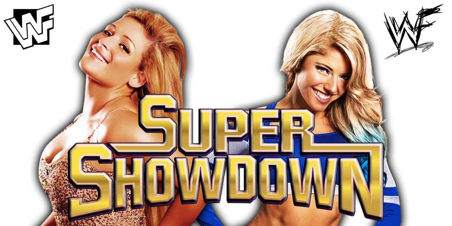 Natalya Alexa Bliss WWE Super ShowDown 2019