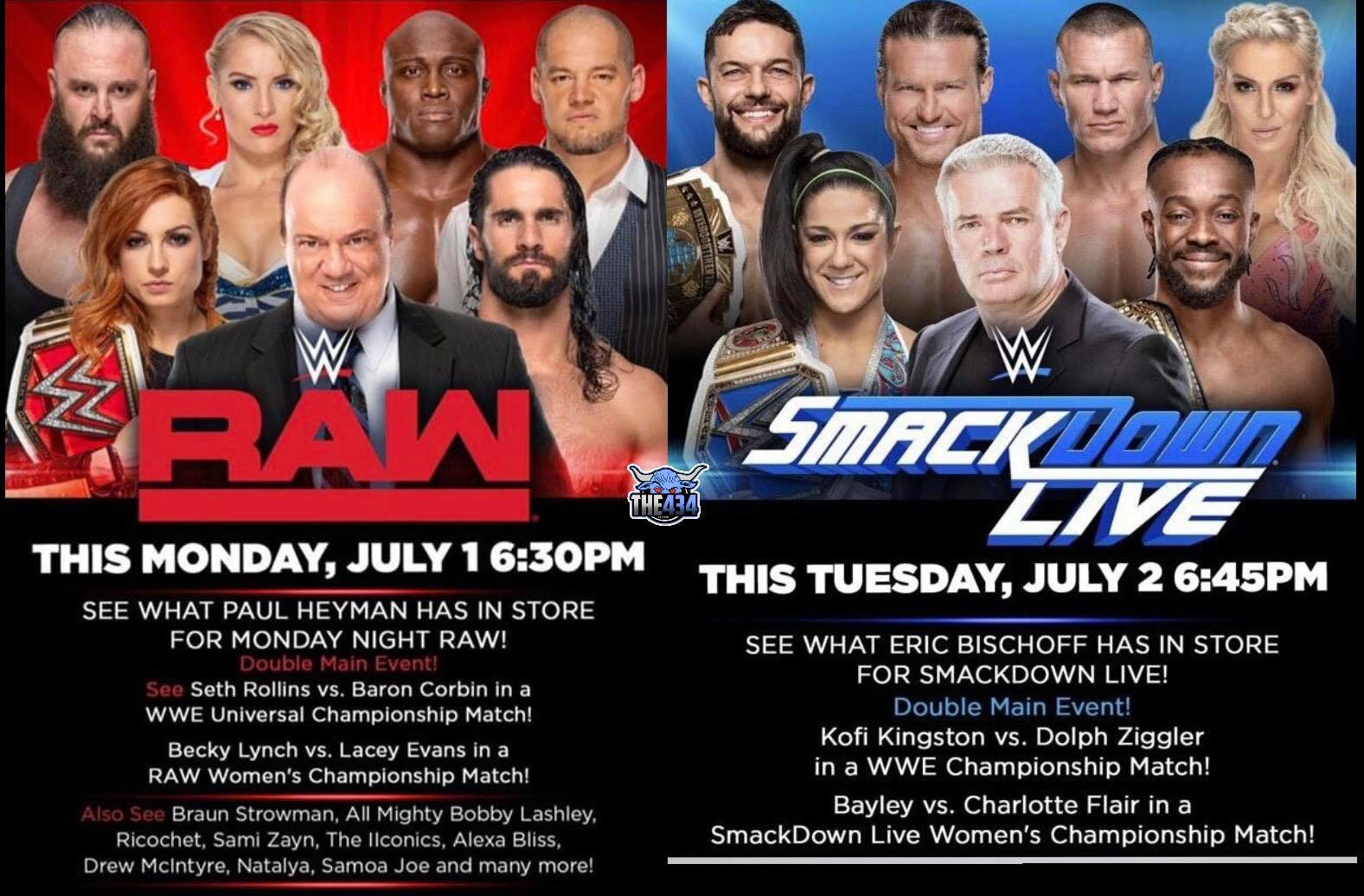 Paul Heyman and Eric Bischoff Being Advertised To Appear On RAW & SmackDown