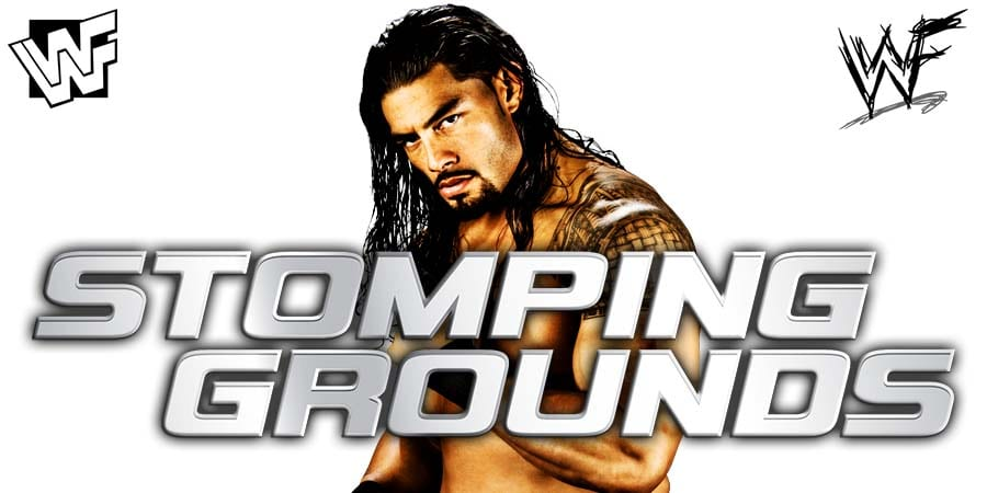 Roman Reigns WWE Stomping Grounds 2019