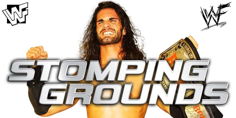 Seth Rollins WWE Stomping Grounds 2019