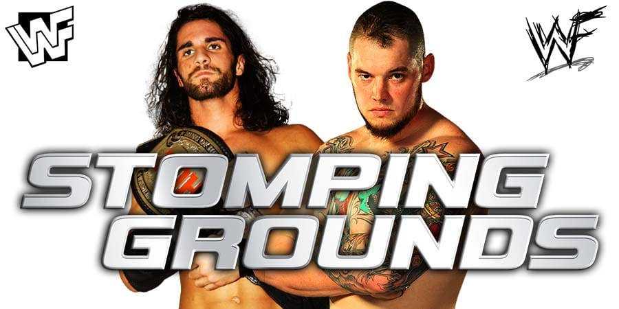 Seth Rollins vs. Baron Corbin - WWE Stomping Grounds 2019