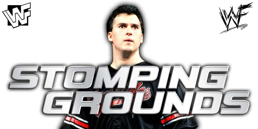 Shane McMahon WWE Stomping Grounds