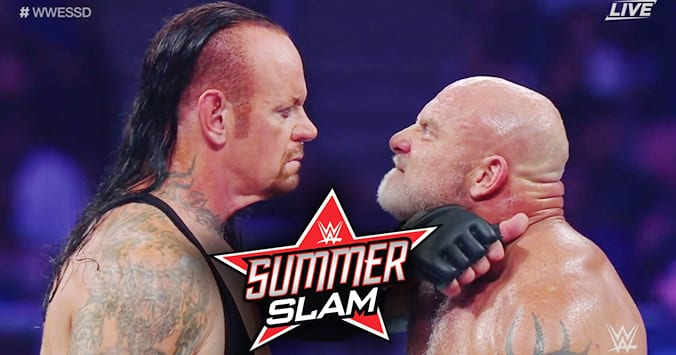 The Undertaker vs. Goldberg - WWE SummerSlam 2019